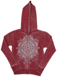 Weathered Wwcc Zip Up Hoodie