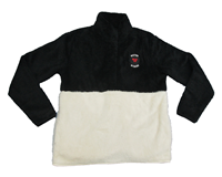 Adult Fuzzy Fleece Pullover