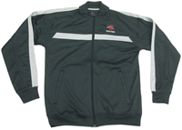 Blocked Poly Fleece Track Jacket