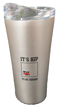 Its Hip To Be Square Vacuum Seal Tumbler