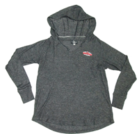 Ladies Cuddle V-Neck Hoodie