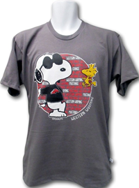 Snoopy Western Wyoming Mustangs T-Shirt
