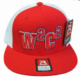 W2c2 Logo Flat Bill Hat