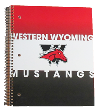 Western Wyoming 3 Subjects Notebook