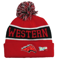 Western Wyoming Knit Winter Hat