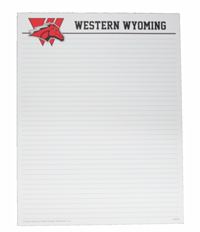 Western Wyoming Note Pad Large